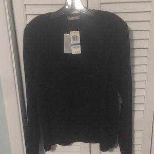 New black  cashmere sweater